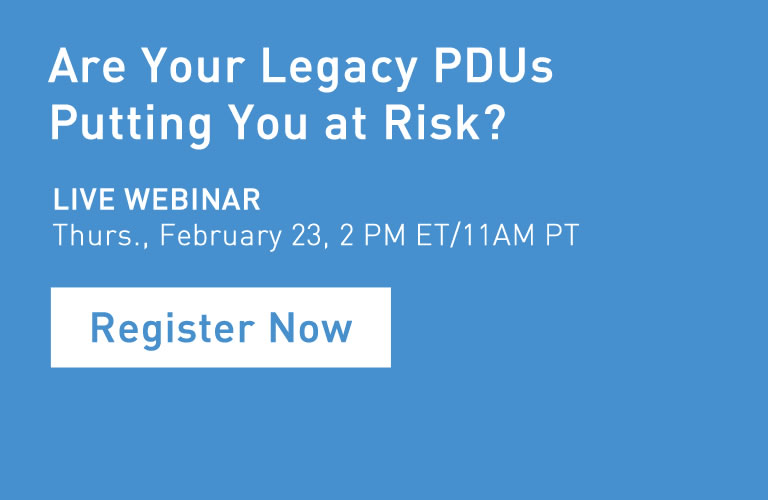 Legacy PDUS webinar